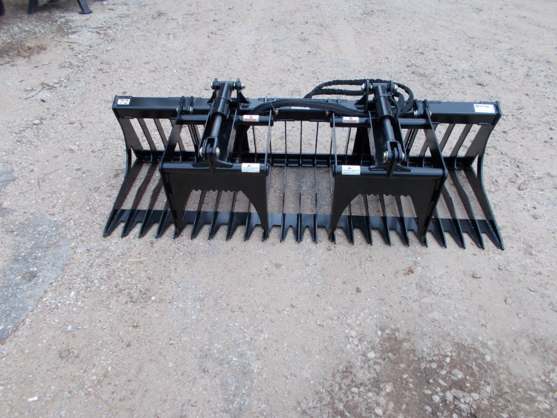 "Virnig New Virnig V30 72"" rock grapple Skid Steer Attachment For Sale"