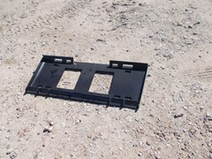 Skid Steer Attachment For Sale:  Virnig Skid Steer Weld on Quick Attach Plate