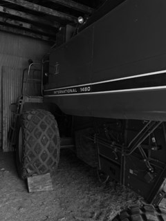 Combine For Sale 1984 International 1480