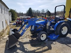 Tractor - Compact Utility For Sale 2012 New Holland BOOMER 35 , 35 HP