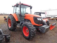 Tractor - Row Crop For Sale 2011 Kubota M108SHDC , 108 HP