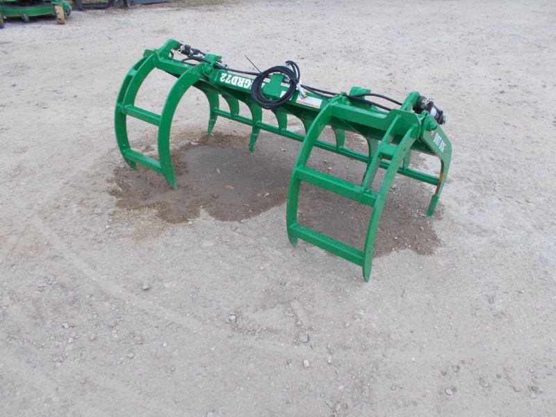 Dirt Dog Dirt Dog double arm grapple for john deere tractor Grapple For Sale