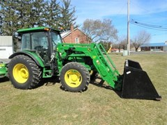 Tractor - Utility For Sale 2014 John Deere 5115M , 105 HP