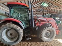 Tractor - Row Crop For Sale 2006 Case IH MXU125 , 125 HP