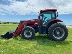 Tractor For Sale 2010 Case IH Puma 125 , 125 HP