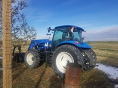 Tractor - Utility For Sale 2007 New Holland TS115A , 115 HP