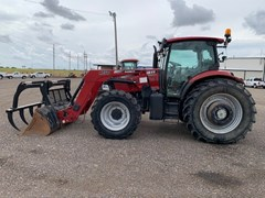 Tractor For Sale 2015 Case IH MAXXUM 125 , 125 HP