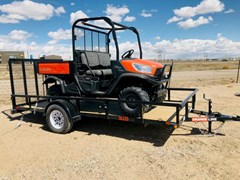 Utility Trailer For Sale 2021 Orange Line SU35-14