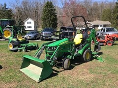Tractor - Compact Utility For Sale 2018 John Deere 1025R TLB , 25 HP