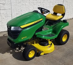 Riding Mower For Sale 2018 John Deere X370