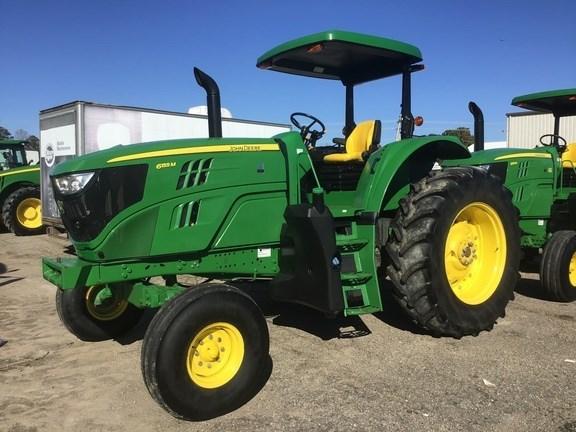 2016 John Deere 6155M Tractor - Row Crop For Sale