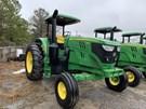 Tractor - Row Crop For Sale:  2017 John Deere 6155M , 155 HP