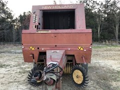 Baler-Round For Sale 2000 New Holland 650