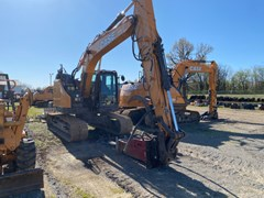 Excavator-Track For Sale 2018 Case CX145D , 102 HP