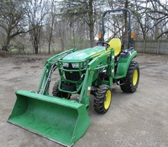 Tractor - Compact Utility For Sale 2017 John Deere 2038R , 38 HP