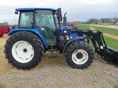 Tractor For Sale 2005 New Holland TL100A , 100 HP
