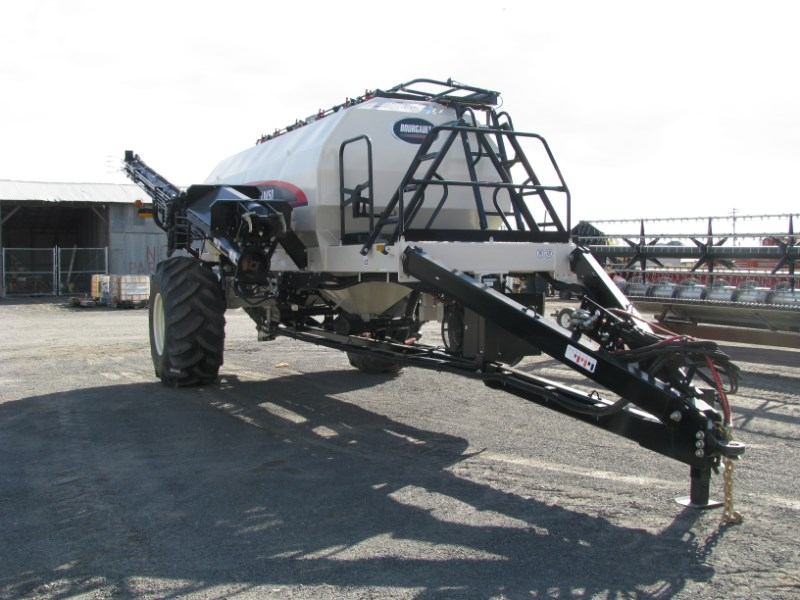 2021 Bourgault L8450 Air Seeder: Air Sys/Cart For Sale