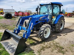 Tractor For Sale 2021 New Holland Workmaster 75 , 75 HP