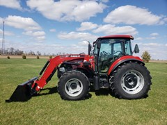Tractor For Sale 2016 Case IH 115C , 115 HP
