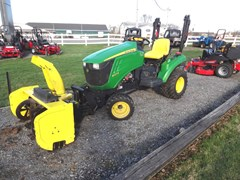 Tractor - Compact Utility For Sale 2011 John Deere 1023E , 23 HP