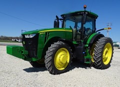 Tractor - Row Crop For Sale 2020 John Deere 8270R , 270 HP