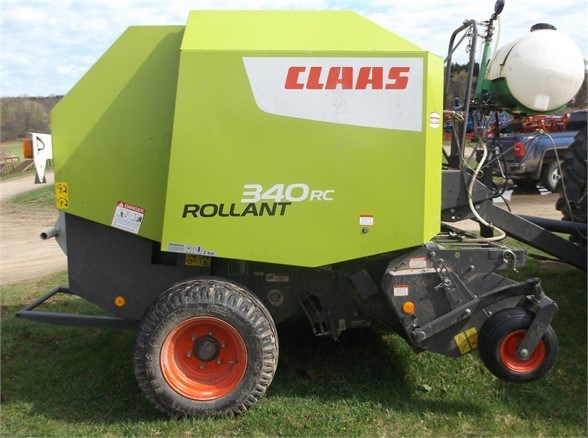 2016 CLAAS ROLLANT 340RC Baler-Round For Sale