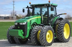 Tractor - Row Crop For Sale 2014 John Deere 8370R , 370 HP