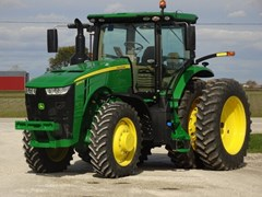 Tractor - Row Crop For Sale 2020 John Deere 8245R , 245 HP