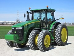 Tractor - Row Crop For Sale 2014 John Deere 8345R , 345 HP