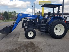 Tractor For Sale 2003 New Holland TS110 R2L , 110 HP
