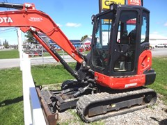 Excavator-Mini For Sale 2018 Kubota KX040-4 , 40 HP