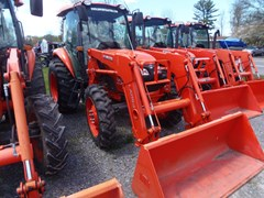 Tractor - Utility For Sale 2013 Kubota M6060HDC , 56 HP