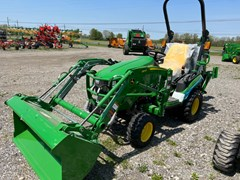 Tractor - Compact Utility For Sale 2020 John Deere 1025R TLB , 25 HP
