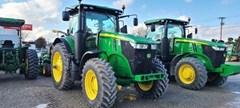 Tractor - Row Crop For Sale 2020 John Deere 7210R , 210 HP