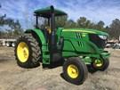 Tractor - Row Crop For Sale:  2016 John Deere 6155M , 155 HP