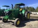 Tractor - Row Crop For Sale:  2018 John Deere 6155M , 155 HP