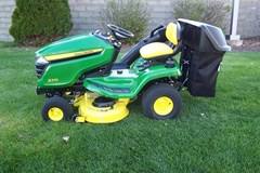 Riding Mower For Sale 2020 John Deere X370 , 18 HP