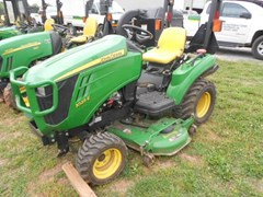 Tractor - Compact Utility For Sale 2014 John Deere 1023E , 15 HP
