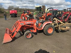 Tractor - Compact Utility For Sale Kubota B2400HSD , 24 HP
