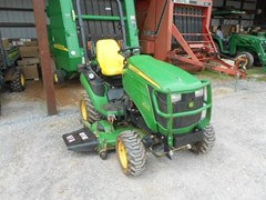 Tractor - Compact Utility For Sale 2014 John Deere 1025R , 18 HP