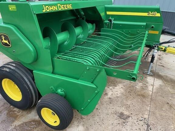 2019 John Deere 348 Baler-Square For Sale