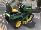 Riding Mower For Sale:  2008 John Deere X540
