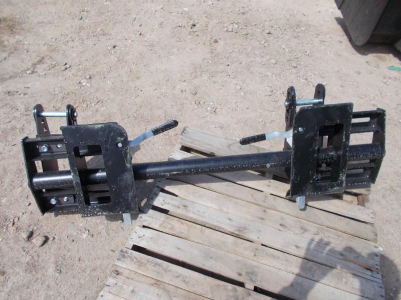 Westendorf Universal Tractor loader skid steer mount Change a Loader Coupler For Sale