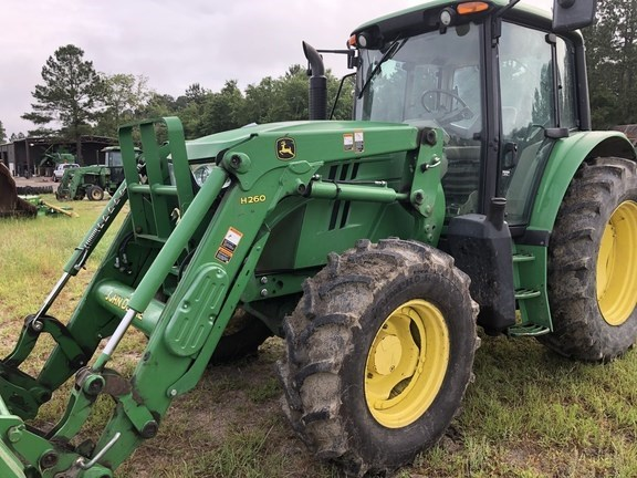 John Deere 6115M Tractor - Utility For Sale