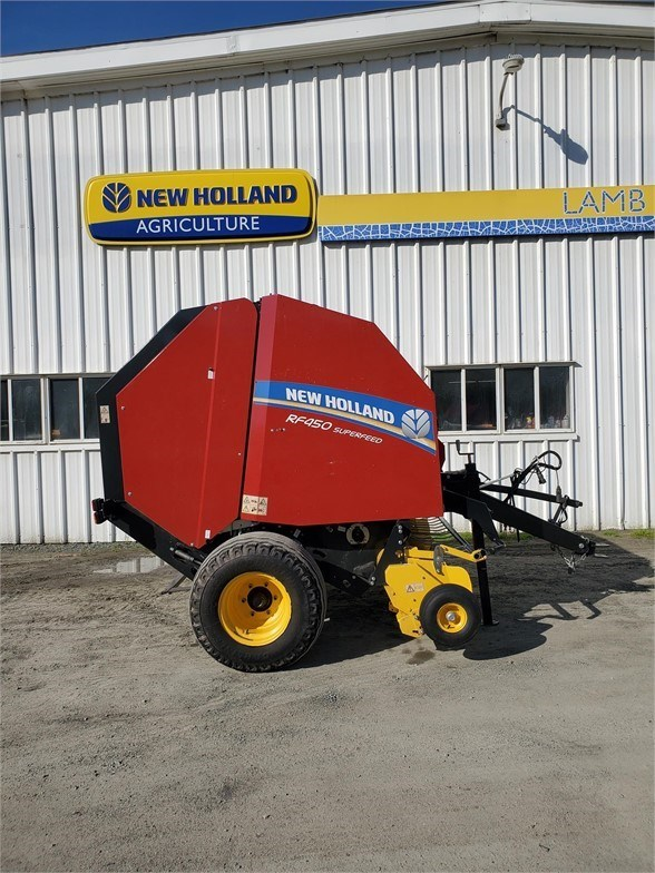 2018 New Holland RF450 SUPERFEED Baler-Round For Sale