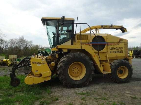 1999 New Holland FX58 PACKAGE DEAL Forage Harvester-Self Propelled For Sale