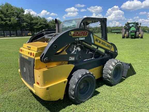 New Holland L228 Skid Steer For Sale