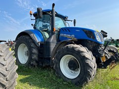 Tractor - Row Crop For Sale 2016 New Holland T7-315 , 315 HP