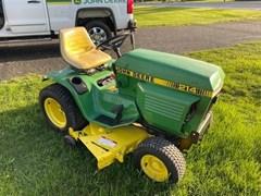 Riding Mower For Sale:  1986 John Deere 214 , 14 HP