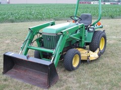 Tractor - Compact Utility For Sale 1989 John Deere 855 , 24 HP